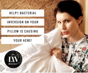 Sleep Acne pillow bacteria